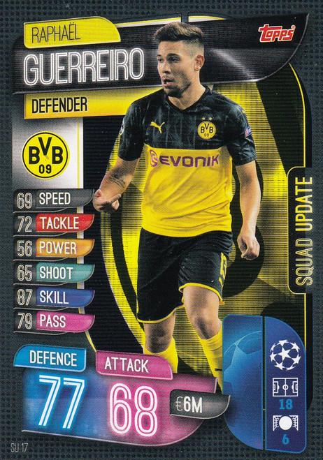 #SU17 Raphael Guerreiro (Borussia Dortmund) Match Attax EXTRA 2019/20