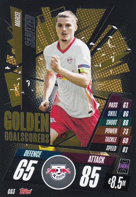 #GG3 Marcel Sabitzer (RB Leipzig) Match Attax Champions League 2020/21 GOLDEN GOALSCORERS