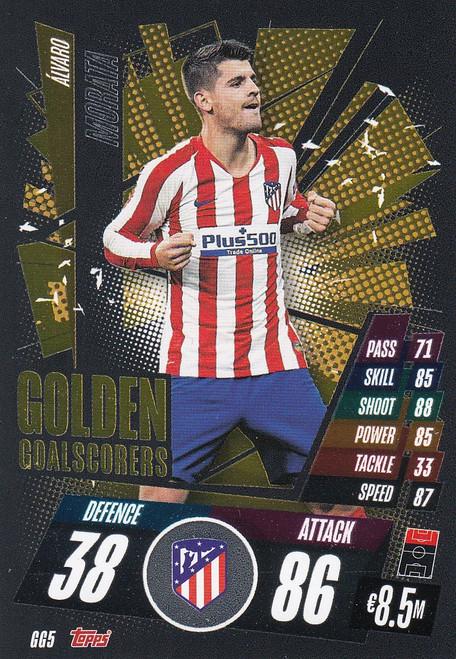 #GG5 Alvaro Morata (Atlético de Madrid) Match Attax Champions League 2020/21 GOLDEN GOALSCORERS