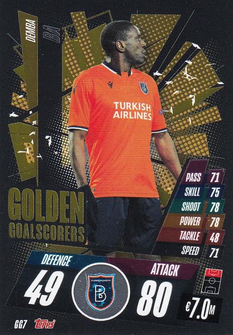 #GG7 Demba Ba (İstanbul Başakşehir) Match Attax Champions League 2020/21 GOLDEN GOALSCORERS