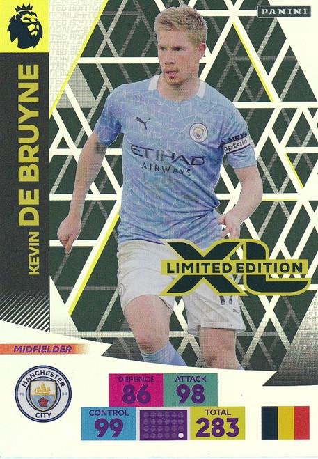 MANCHESTER CITY - Kevin De Bruyne  Adrenalyn XL Premier League PLUS 2020/21 LIMITED EDITION