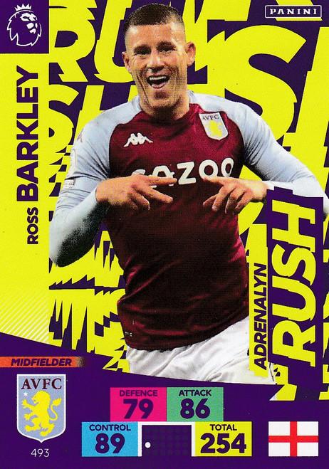 #493 Ross Barkley (Aston Villa) Adrenalyn XL Premier League PLUS 2020/21 ADRENALYN RUSH