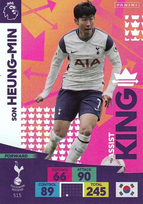 #515 Son Heung-Min (Tottenham Hotspur) Adrenalyn XL Premier League PLUS 2020/21 ASSIST KINGS