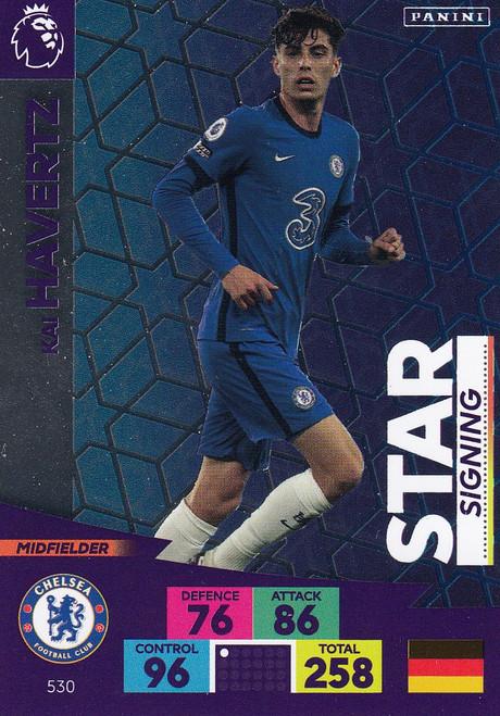 #530 Kai Havertz (Chelsea) Adrenalyn XL Premier League PLUS 2020/21 STAR SIGNINGS