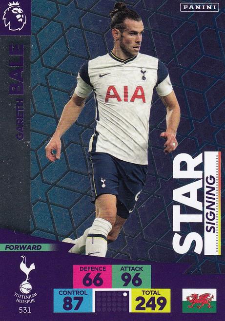 #531 Gareth Bale (Tottenham Hotspur) Adrenalyn XL Premier League PLUS 2020/21 STAR SIGNINGS