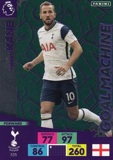 #535 Harry Kane (Tottenham Hotspur) Adrenalyn XL Premier League PLUS 2020/21 GOAL MACHINES