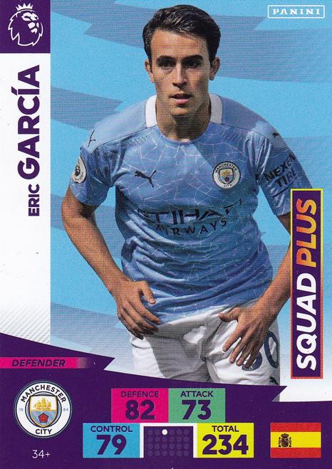 #34+ Eric Garcia (Manchester City) Adrenalyn XL Premier League PLUS 2020/21 SQUAD PLUS