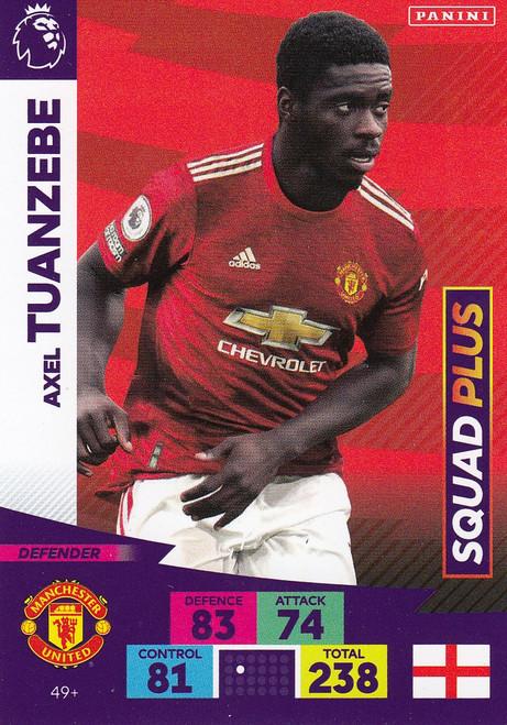 #49+ Axel Tuanzebe (Manchester United) Adrenalyn XL Premier League PLUS 2020/21 SQUAD PLUS