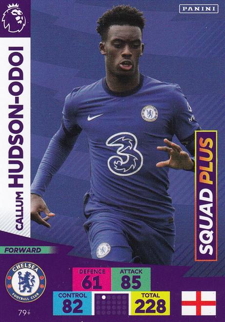 #79+ Callum Hudson-Odoi (Chelsea) Adrenalyn XL Premier League PLUS 2020/21 SQUAD PLUS