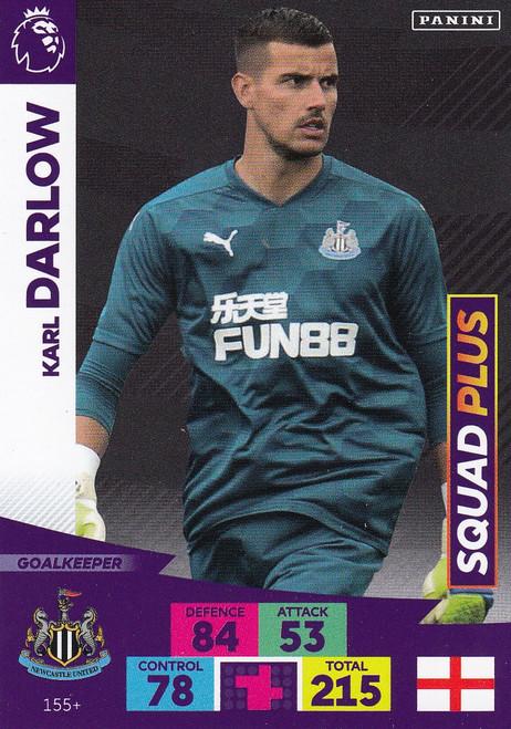 #155+ Karl Darlow (Newcastle United) Adrenalyn XL Premier League PLUS 2020/21 SQUAD PLUS