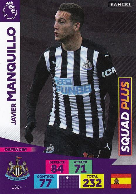 #156+ Javier Manquillo (Newcastle United) Adrenalyn XL Premier League PLUS 2020/21 SQUAD PLUS