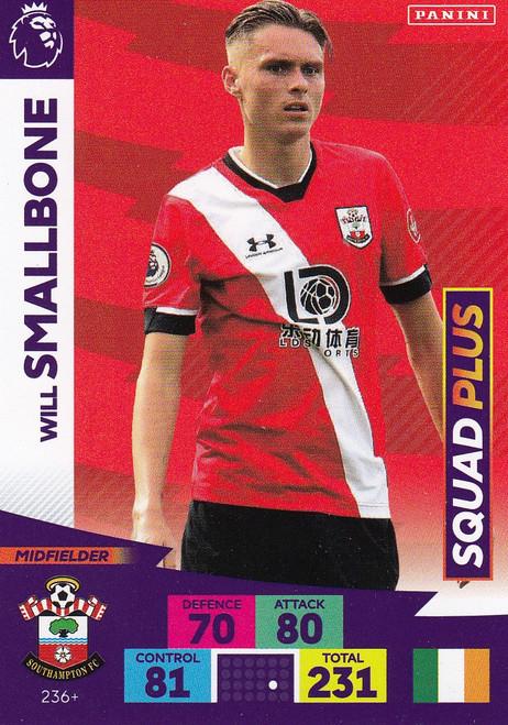 #236+ Will Smallbone (Southampton) Adrenalyn XL Premier League PLUS 2020/21 SQUAD PLUS