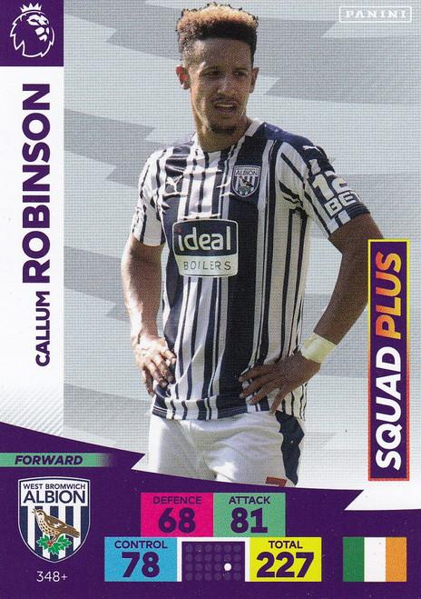 #348+ Callum Robinson (West Bromwich Albion) Adrenalyn XL Premier League PLUS 2020/21 SQUAD PLUS