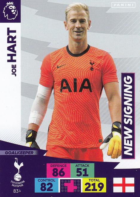#83+ Joe Hart (Tottenham Hotspur) Adrenalyn XL Premier League PLUS 2020/21 NEW SIGNINGS