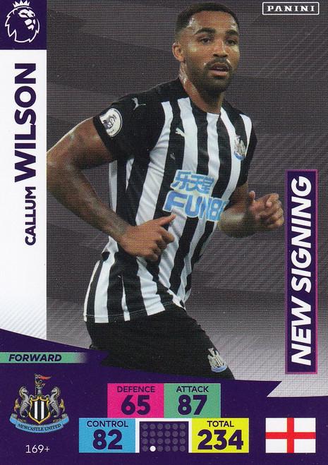 #169+ Callum Wilson (Newcastle United) Adrenalyn XL Premier League PLUS 2020/21 NEW SIGNINGS