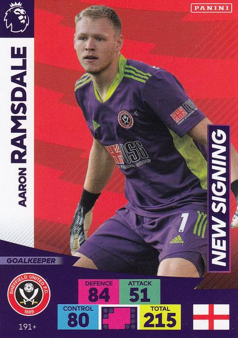 #191+ Aaron Ramsdale (Sheffield United) Adrenalyn XL Premier League PLUS 2020/21 NEW SIGNINGS