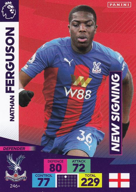 #246+ Nathan Ferguson (Crystal Palace) Adrenalyn XL Premier League PLUS 2020/21 NEW SIGNINGS