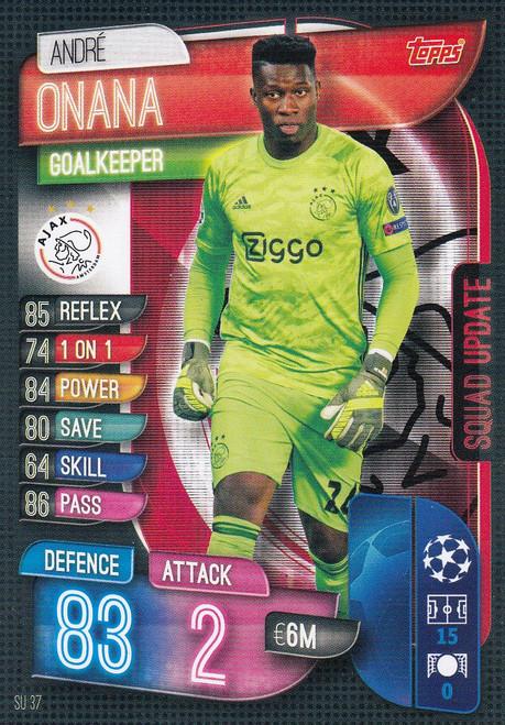 #SU37 Andre Onana (AFC Ajax) Match Attax EXTRA 2019/20