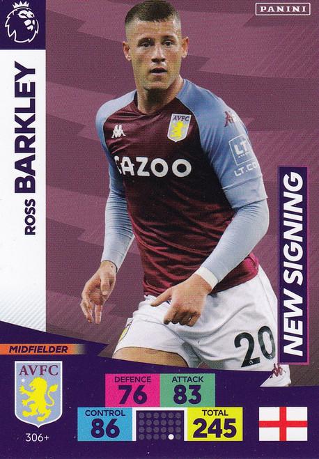#306+ Ross Barkley (Aston Villa) Adrenalyn XL Premier League PLUS 2020/21 NEW SIGNINGS