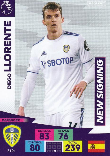 #319+ Diego Llorente (Leeds United) Adrenalyn XL Premier League PLUS 2020/21 NEW SIGNINGS