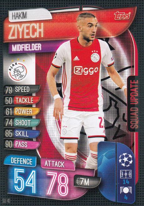 #SU40 Hakim Ziyech (AFC Ajax) Match Attax EXTRA 2019/20