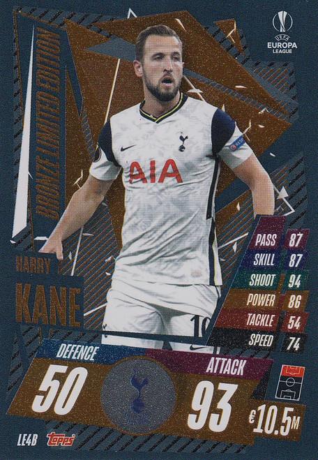 #LE4B Harry Kane (Tottenham Hotspur)) Match Attax EXTRA 2020/21 BRONZE