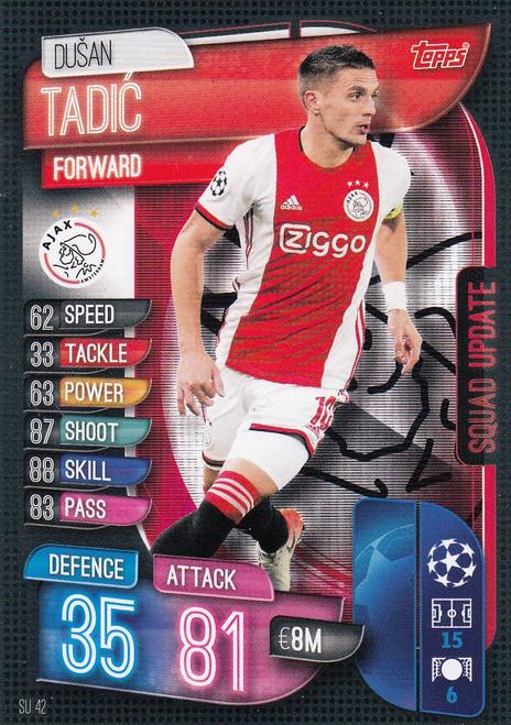 #SU42 Dusan Tadic (AFC Ajax) Match Attax EXTRA 2019/20