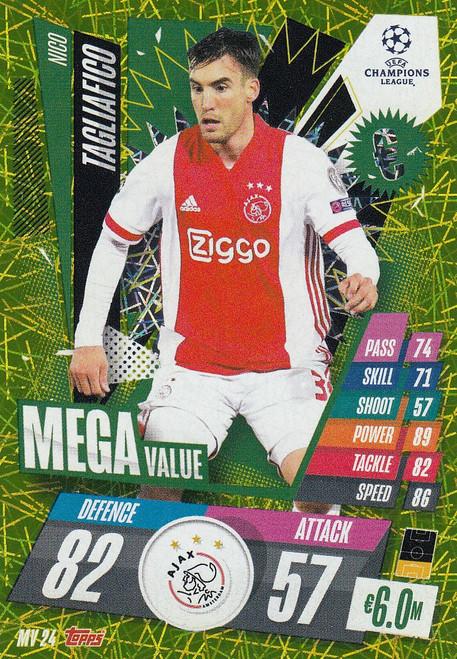 #MV24 Nico Tagliafico (AFC Ajax) Match Attax EXTRA 2020/21 MEGA VALUE