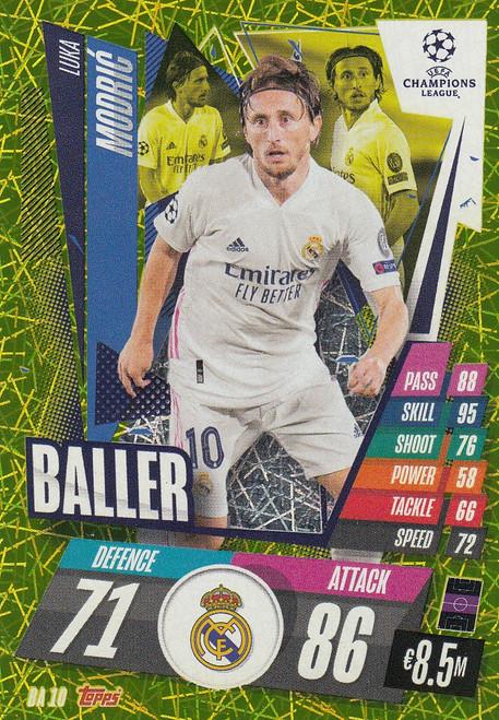 #BA10 Luka Modrić (Real Madrid CF) Match Attax EXTRA 2020/21 BALLER