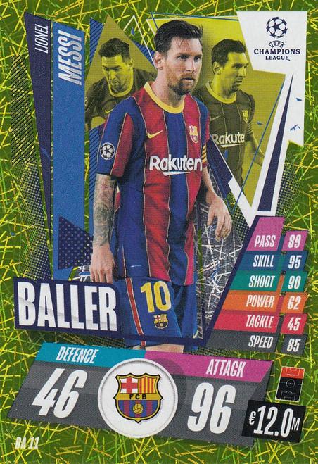 #BA11 Lionel Messi (FC Barcelona) Match Attax EXTRA 2020/21 BALLER