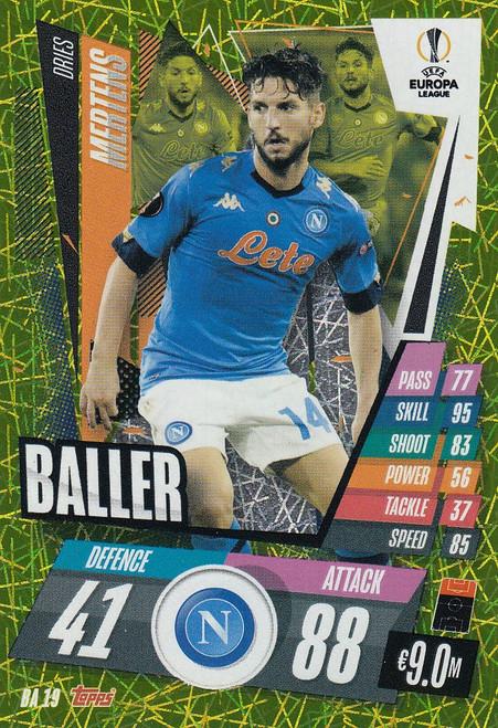 #BA19 Dries Mertens (SSC Napoli) Match Attax EXTRA 2020/21 BALLER
