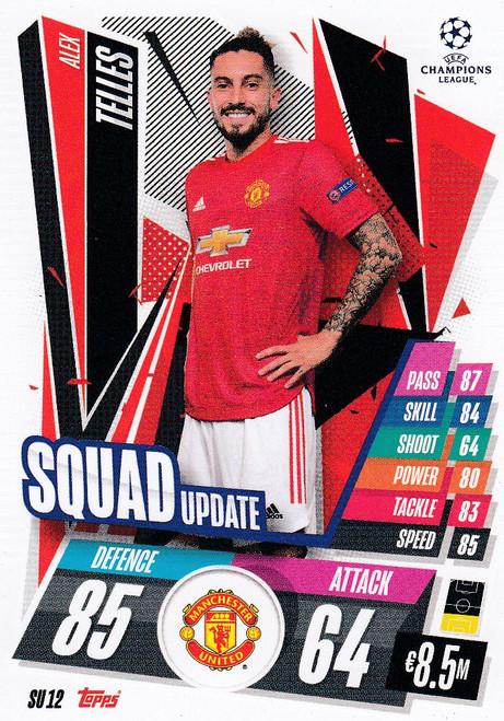#SU12 Alex Telles (Manchester United) Match Attax EXTRA 2020/21 SQUAD UPDATE