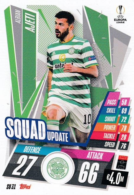 #SU31 Albian Ajeti (Celtic) Match Attax EXTRA 2020/21 SQUAD UPDATE