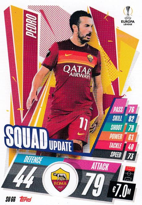 #SU66 Pedro (AS Roma) Match Attax EXTRA 2020/21 SQUAD UPDATE