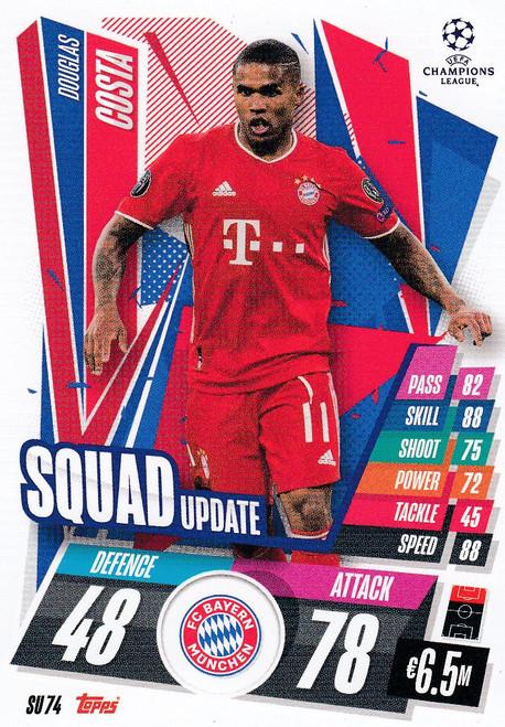#SU74 Douglas Costa (FC Bayern München) Match Attax EXTRA 2020/21 SQUAD UPDATE