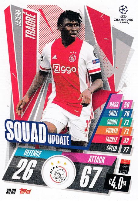 #SU80 Lassina Traoré (AFC Ajax) Match Attax EXTRA 2020/21 SQUAD UPDATE