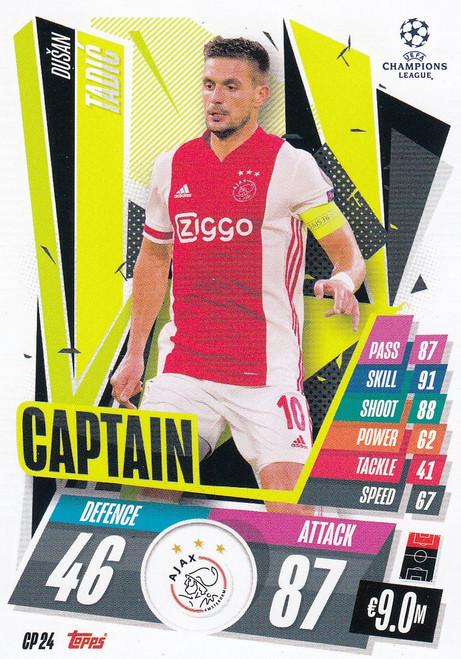 #CP24 Dušan Tadić (AFC Ajax) Match Attax EXTRA 2020/21 CAPTAIN