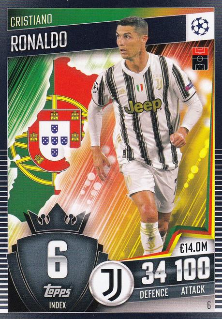 #6 Cristiano Ronaldo (Juventus) Match Attax 101 2020/21