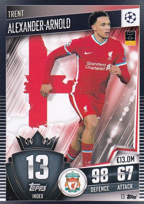 #13 Trent Alexander-Arnold (Liverpool) Match Attax 101 2020/21