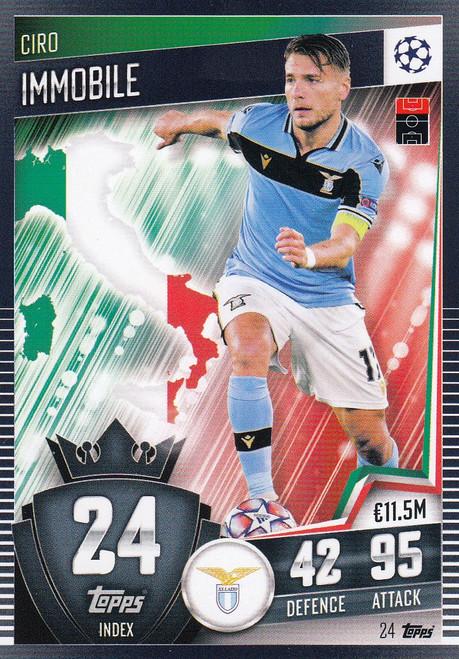 #24 Ciro Immobile (SS Lazio) Match Attax 101 2020/21