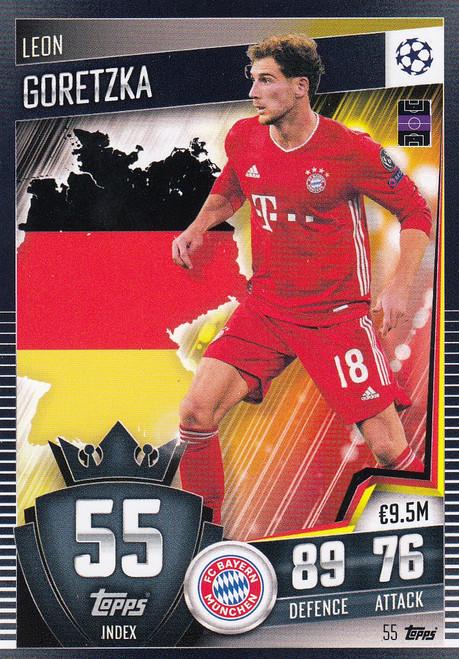 #55 Leon Goretzka (FC Bayern München) Match Attax 101 2020/21