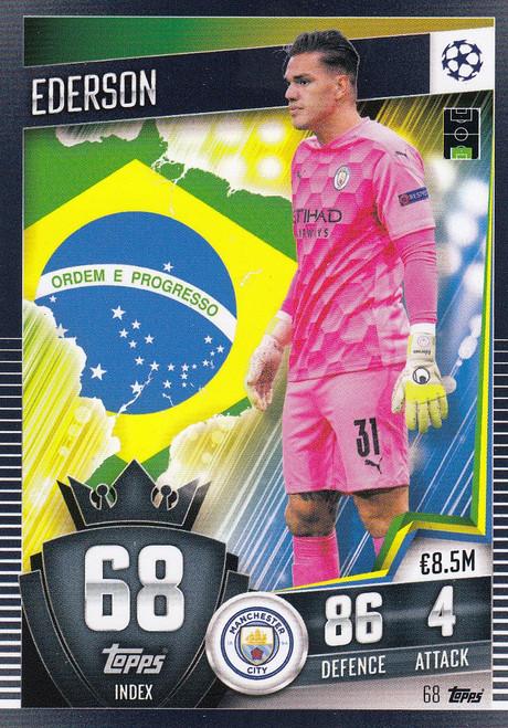 #68 Ederson (Manchester City) Match Attax 101 2020/21