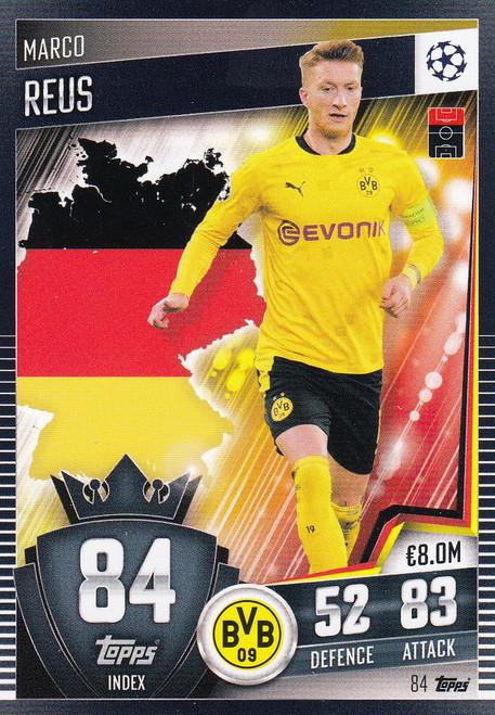 #84 Marco Reus (Borussia Dortmund) Match Attax 101 2020/21