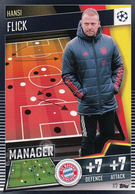 #117 Hansi Flick (FC Bayern München) Match Attax 101 2020/21 MANAGER