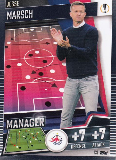 #121 Jesse Marsch (FC Salzburg) Match Attax 101 2020/21 MANAGER
