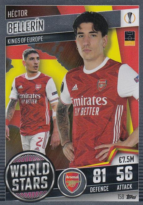 #158 Hector Bellerin (Arsenal) Match Attax 101 2020/21 WORLD STAR