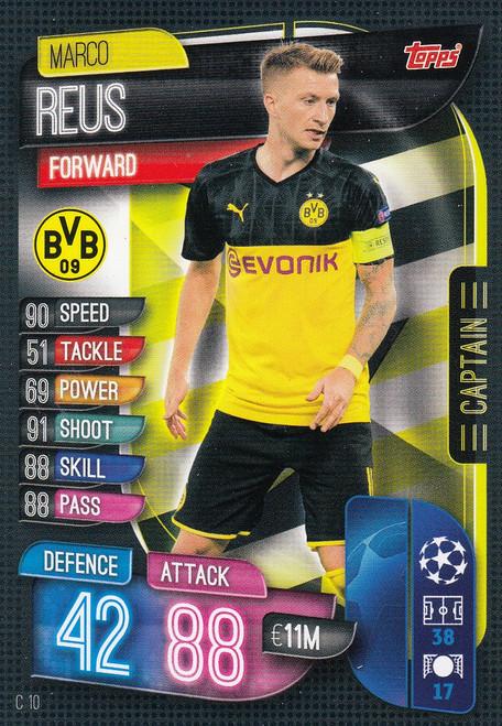 #C10 Marco Reus (Borussia Dortmund) Match Attax EXTRA 2019/20 CAPTAIN