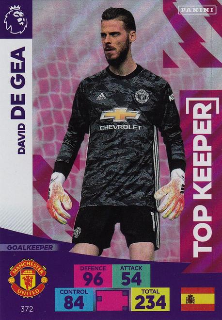 #372 David De Gea (Manchester United) Adrenalyn XL Premier League 2020/21 TOP KEEPER