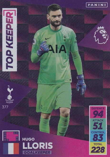 #377 Hugo Lloris (Tottenham Hotspur) Adrenalyn XL Premier League 2021/22 TOP KEEPER