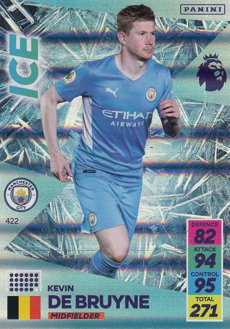 #422 Kevin De Bruyne (Manchester City) Adrenalyn XL Premier League 2021/22 ICE